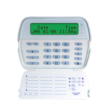 DSC Power Serisi 64 Zone Türkçe Tam Mesajlı Şifre Paneli