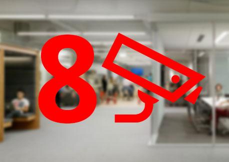 8 Hd Kameralı Ev ofis Cctv Sistemi