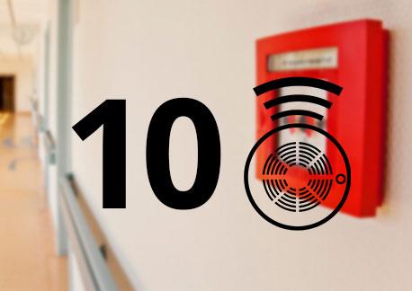 10 Dedektörlü Konvansiyonel Sistem
