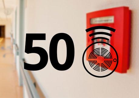 50 Dedektörlü Konvansiyonel Sistem