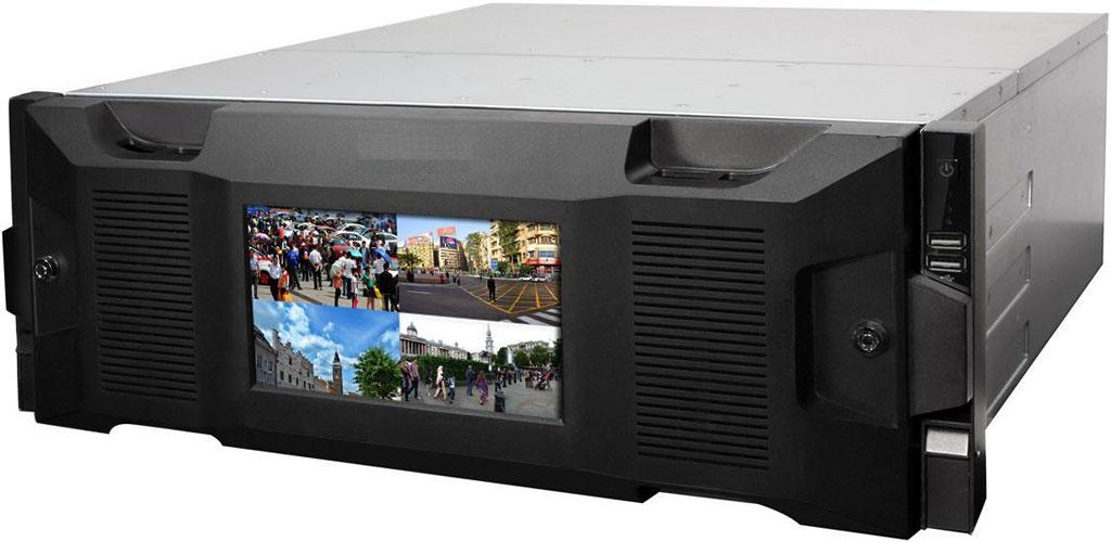 256 Kanal Full HD 4U Super NVR