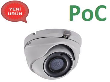 DS-2CE56D8T-ITME 2.0 MP PoC TVI Dome Kamera
