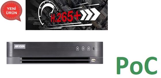 DS-7216HQHI-K2/P 16 Kanal 1080P PoC Kayıt Cihazı