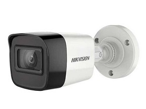 2.0 MP Çözünürlük,  CMOS sensör,  0.01 Lux renkli, 2.8 mm sabit lens IR Bullet kamera