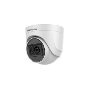 2.0 MP Çözünürlük,  CMOS sensör,  0.01 Lux renkli, 2.8 mm sabit lens IR Dome kamera