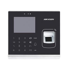 DS-K1T201MF-C  IP Tabanlı Geçiş Kontrol Terminali (Mifare Kart Okuyucu + Parmak İzi + Dahili Kamera