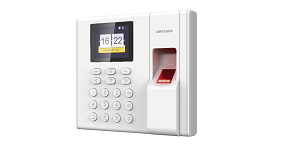 DS-K1A8503MF-B  Standalone Parmak İzi ve Kart Okuyuculu PDKS Terminali (Dahili Bataryalı - 2.4-inch 320×240 LCD-TFT)