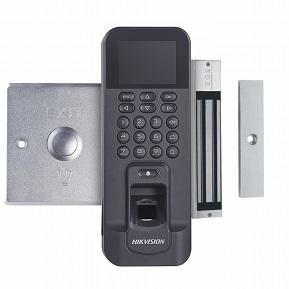 DS-KAS261  Parmak İzi ve Kart Okuyucu Tek Kapı Geçiş Kontrol Kiti